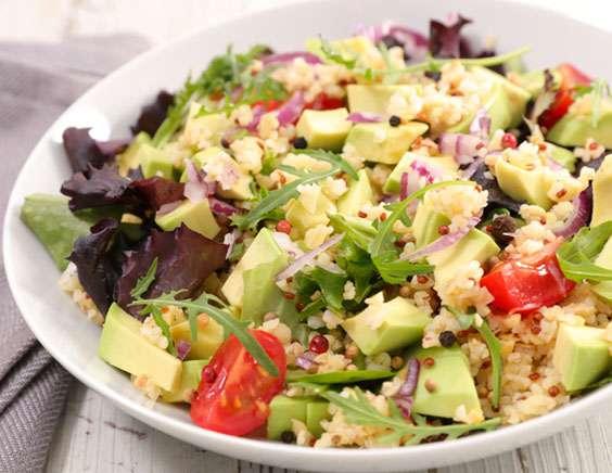 салат с крупой киноа и помидорами рецепт вкусного салата с киноа и