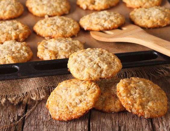 овсяное печенье с манго рецепт