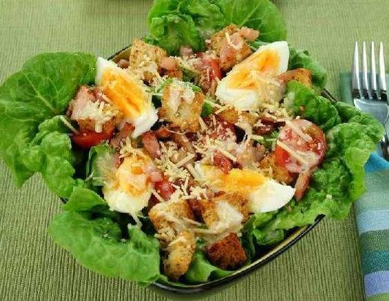 рецепт салата мечта цезаря