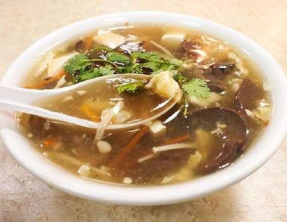 грибной суп на курином бульоне рецепты с фото