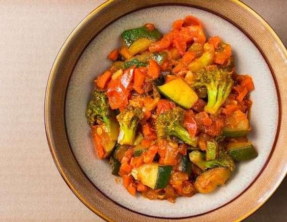 рецепт овощи тушеные