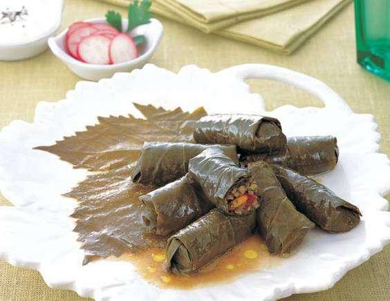 Рецепт еще одной азербайджанской долмы — без мяса.
