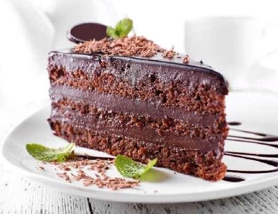 теплый шоколадный торт рецепт