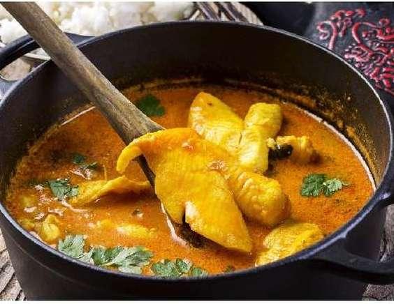 рецепт семги в соусе карри