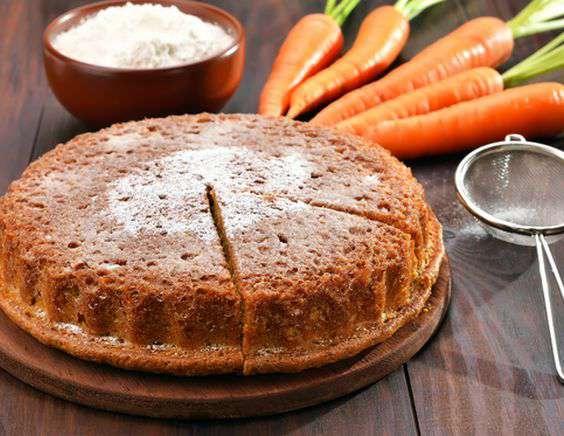 Морковный кекс от юлии