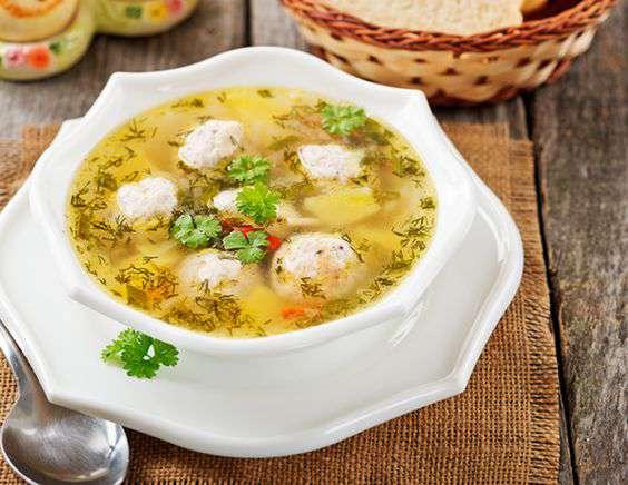 Суп с гороховый с фрикадельками в мультиварке
