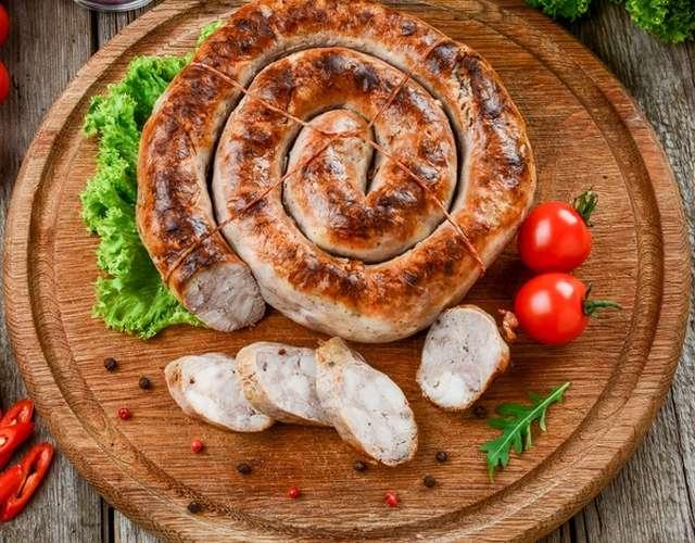 Картинки по запросу колбаса домашняя