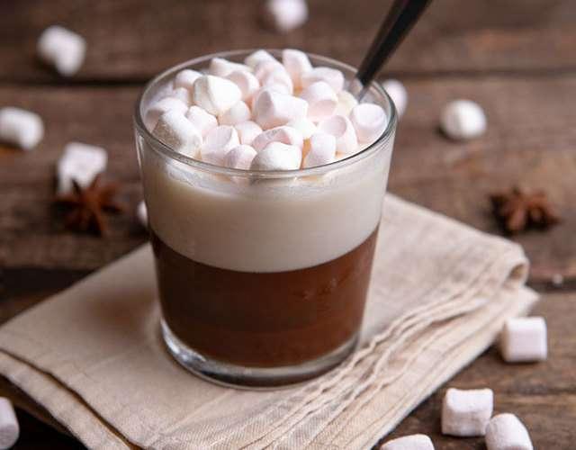 Желе из молока с какао и зефирками - пошагово с фото от Maggi.ru