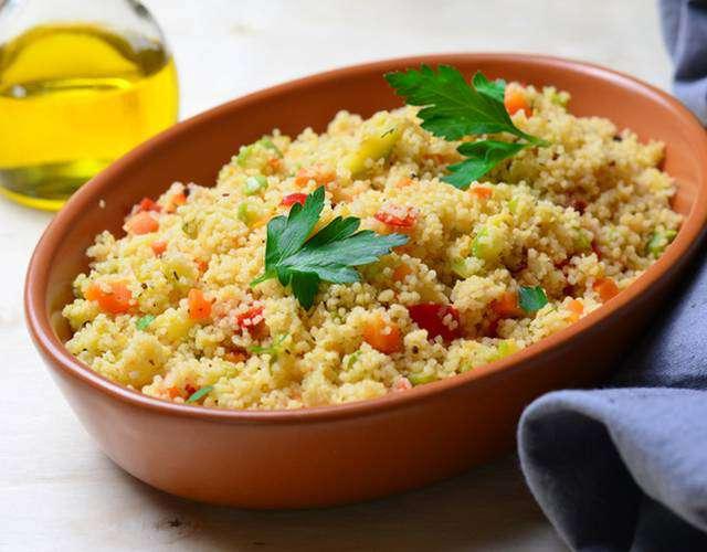 кускус рецепт приготовления с овощами и мясом с фото