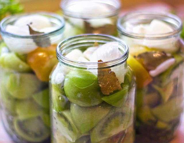 салат из на зиму рецепты приготовления