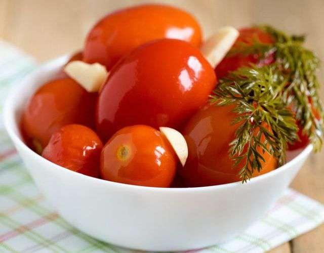 легкая засолка помидоров