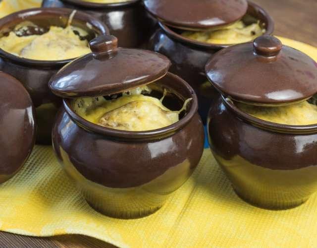 рецепт готовки в горшочках