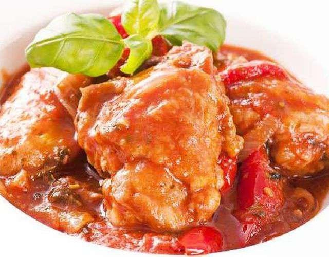 Как приготовить чахохбили из курицы пошаговый рецепт с фото в мультиварке