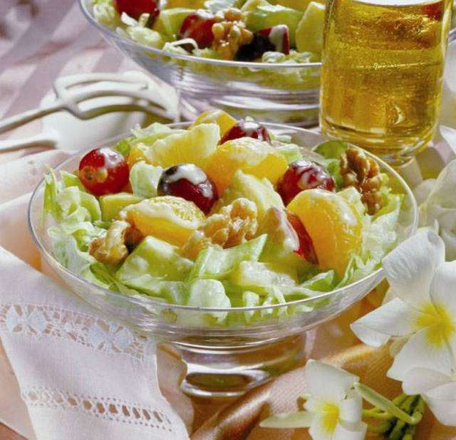В диете магги что такое салат