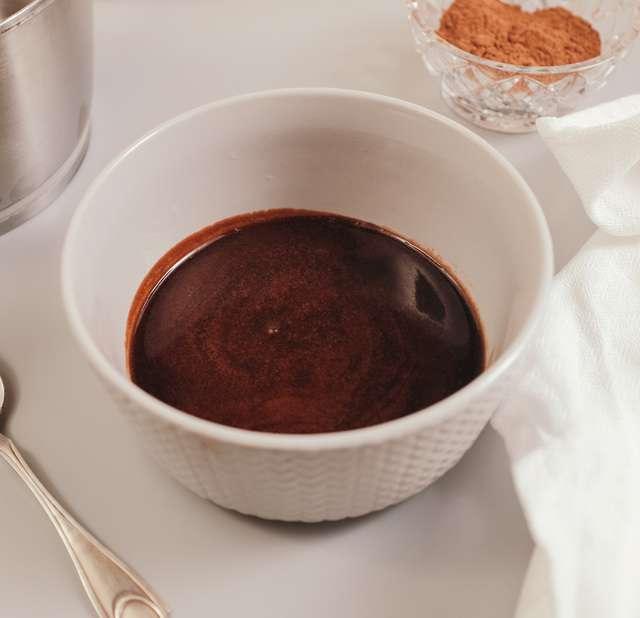 Как приготовить глазурь из какао