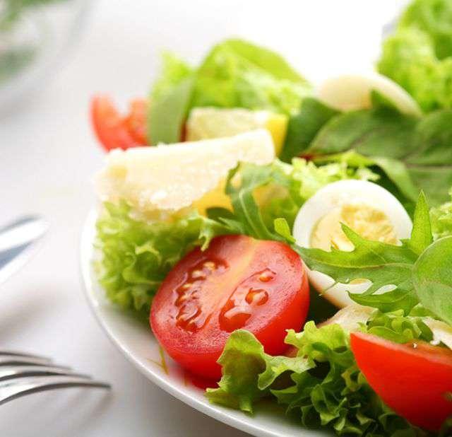 Салаты овощные на диете магги