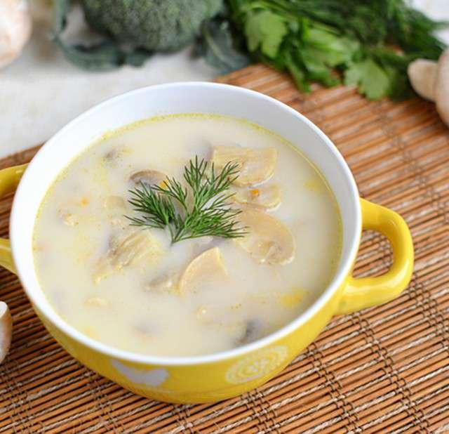 Как приготовить суп с шампиньонами и курицей пошаговый рецепт