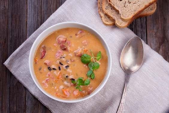 рецепты супов с беконом и фасолью