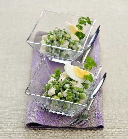 рецепты салатов с горошком отзывы