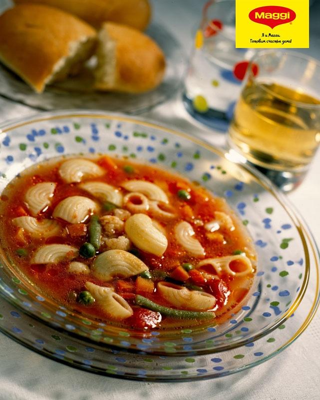 магги на второе для макарон с курицей и грибами рецепт