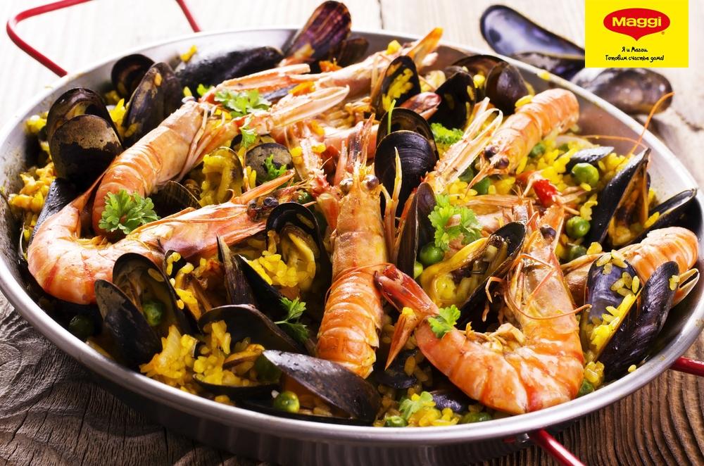 Паэлья из морепродуктов рецепты