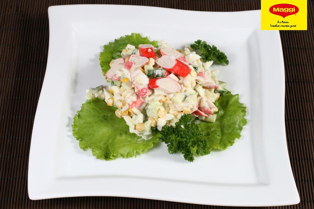 Салат бриз с крабовыми палочками рецепт с