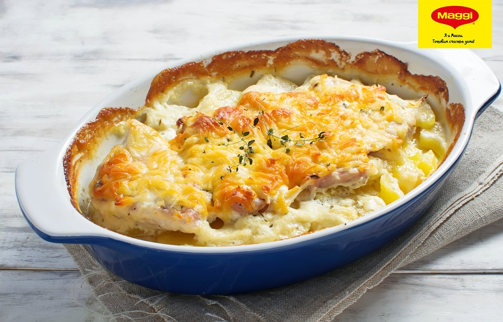 Мясо по по-французски рецепт с пошагово с картофелем и помидорами