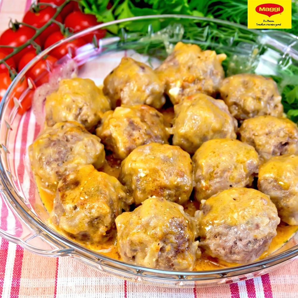 Рецепт тефтели в сливочном соусе на сковороде рецепт с пошагово