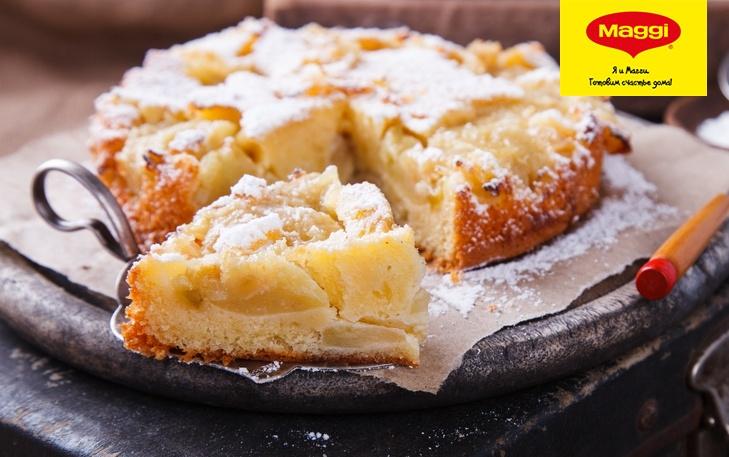 Шарлотка с яблоками рецепт с ириной хлебниковой