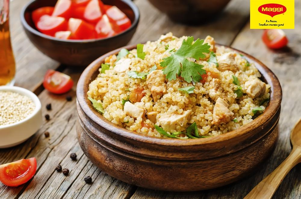 рецепт вторых блюд с курицей и грибами