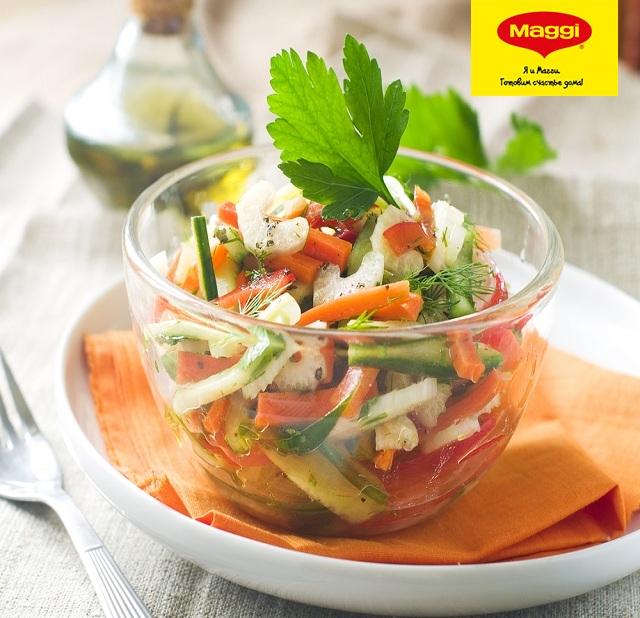Салат из моркови и сельдерея для похудения
