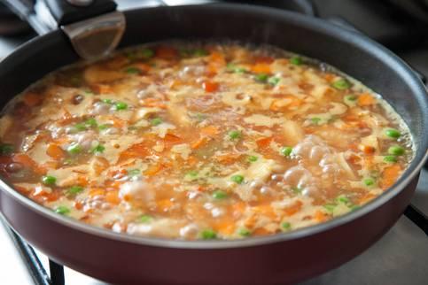 как варить плов с курицей в сковороде рецепт с фото